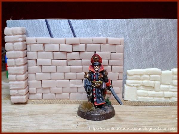 SuperSculpey-Clay-Columna-Pillar-Piedra-Muro-alto-Wall-High-Stone-Wargames-Warhammer-Escenografia-Scenery-Bolt-FOW-10
