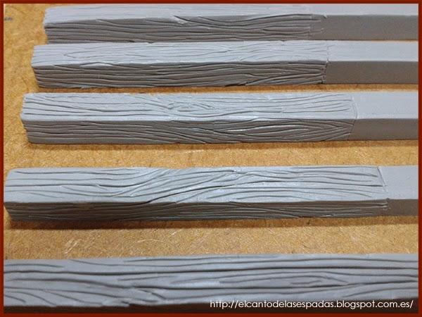 Super-Sculpey-Firm-Madera-Wood-Stable-Stall-Establo-Escenografía-1650-Warhammer-Mordheim-Scenery-05