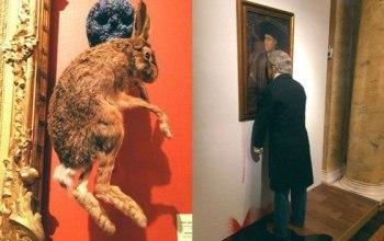 Взгляд на скандальную выставку Яна Фабра в Эрмитаже
