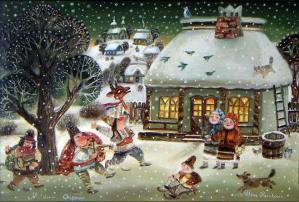рождество православие, рождество на руси, ночь перед рождеством