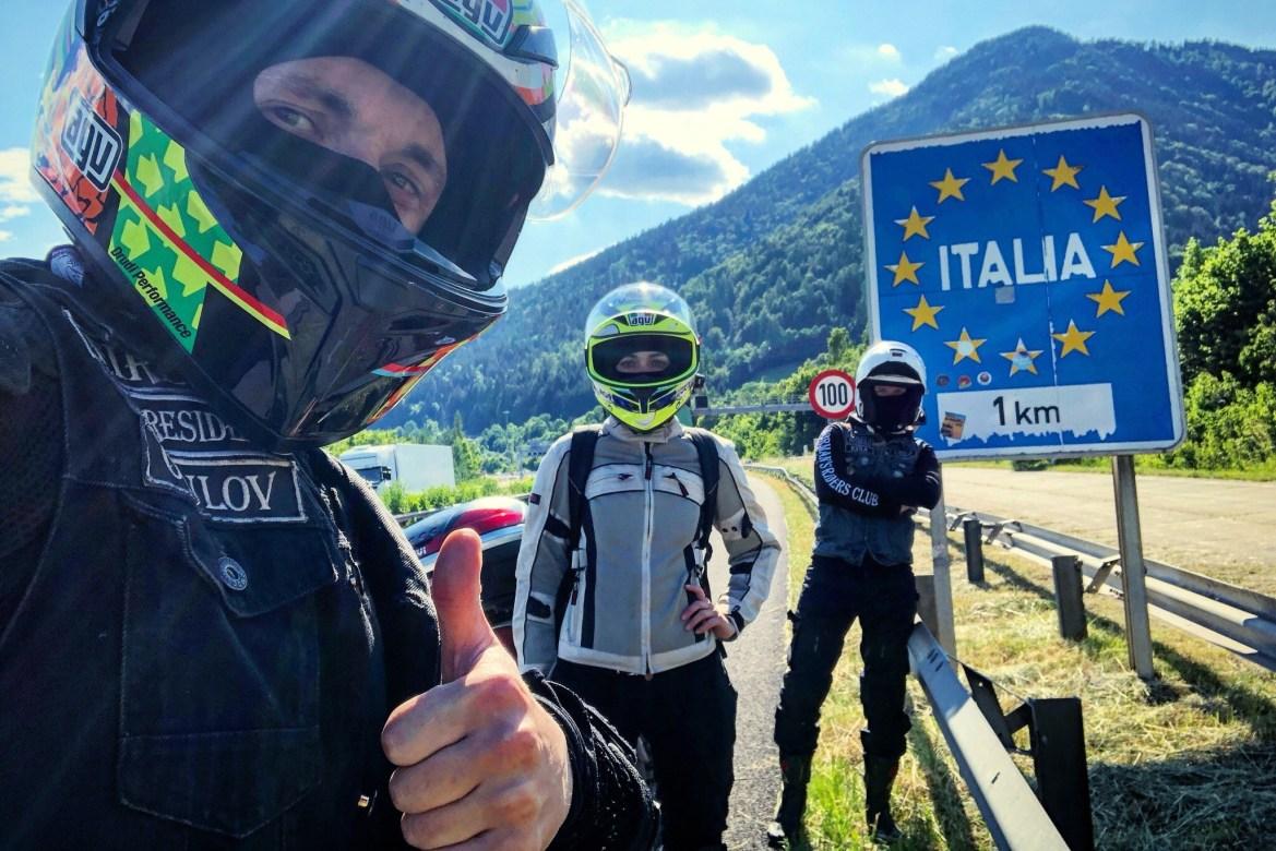 На мотоцикле по Италии видео, На мотоцикле по Италии фото, из Австрии в Италию на мотоцикле, На мотоцикле по Италии отчет, На мотоцикле по Италии маршрут, из России в Италию на мотоцикле