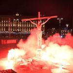 Акционист Павел Крисевич задержан в образе Христа