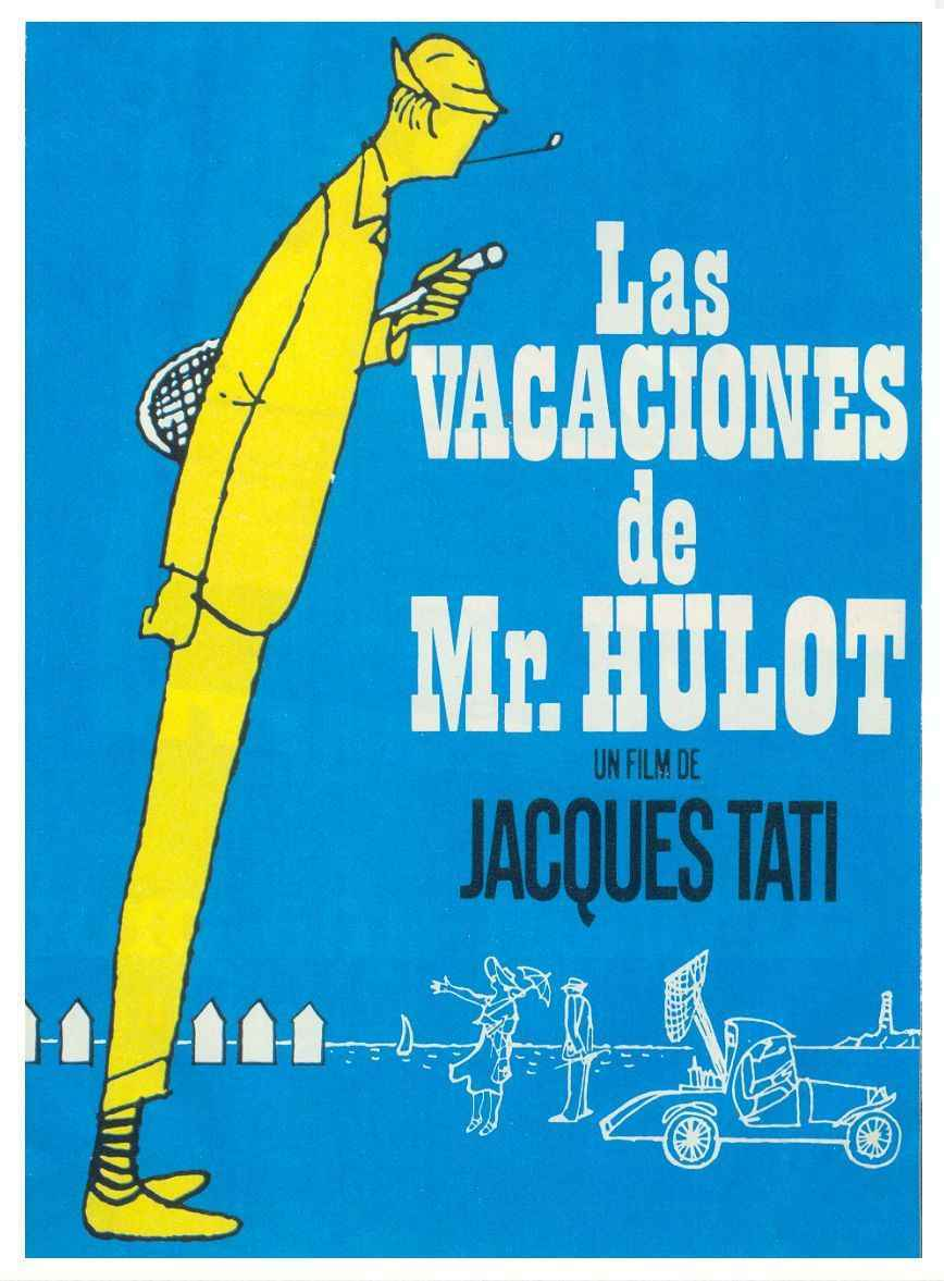 Last Film I Saw Mr Hulots Holiday 1953 Cinema Omnivore