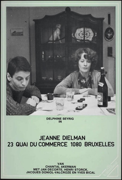 Jeanne Dielman, 23 Quai Du Commerce, 1080 Bruxelles : jeanne, dielman,, commerce,, bruxelles, Review], Jeanne, Dielman,, Commerce,, Bruxelles, (1975), Cinema, Omnivore
