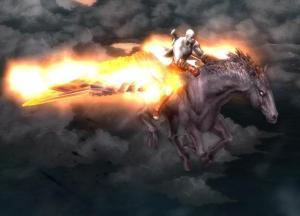But since you get to fly on a goddamn flaming Pegasus, it's all pretty much worth it regardless.