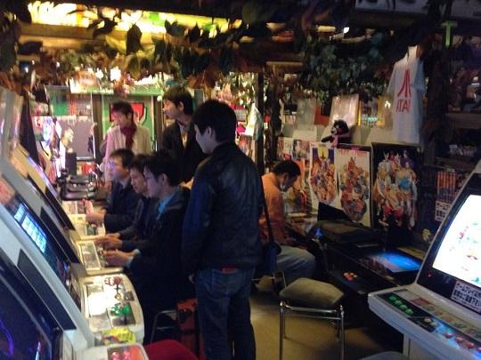 Super Potato's 5th floor arcade.