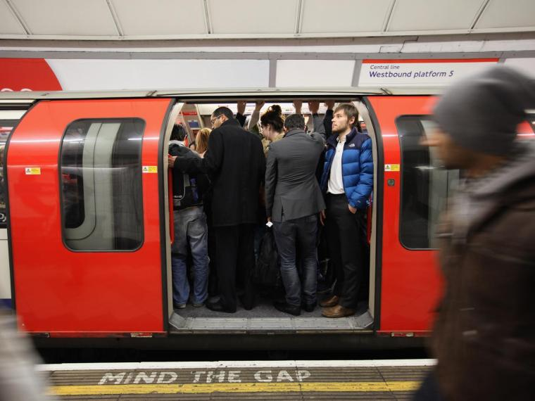 tube getty - New Tube trains blamed for dramatic rise in people falling down the gap on London Underground