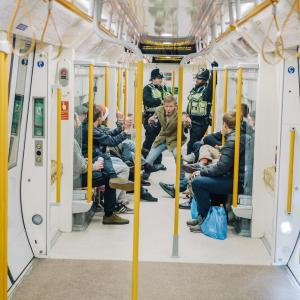 1513769379039 police - Drunkenness and Dreams On London's First Late-Night Overground Service