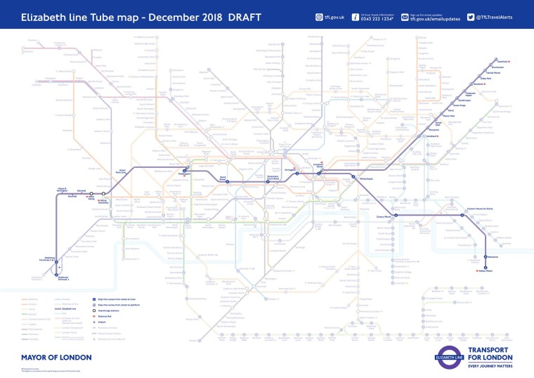 elizlinee 5a38f34a58d1e - Crossrail coming: The new Tube map featuring the Elizabeth Line has been revealed with a year to go