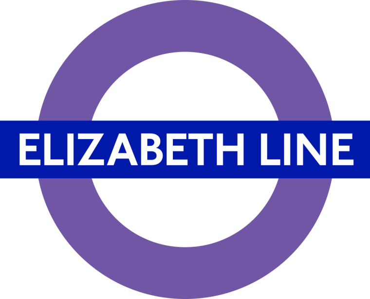 Elizabeth line roundel 1024x828 - First purple Elizabeth Line Tube roundels installed at stations across London