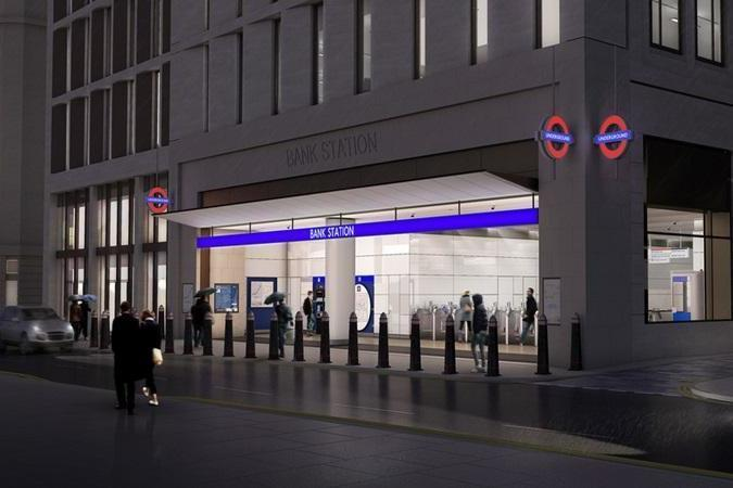 bank station0202c - New images show progress of huge £600m revamp at Bank station to simplify 'spaghetti maze of tunnels'