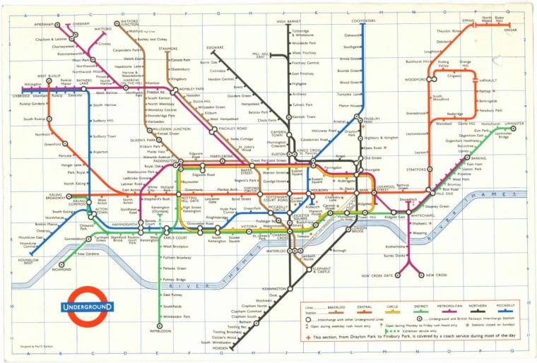 maps 2 1024x692 - Remarkable old Tube maps show how London Underground network has changed over the past 100 years