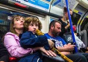 children tube - Tube passengers air their biggest gripes including not taking your backpack off and annoyingly leaning against the pole