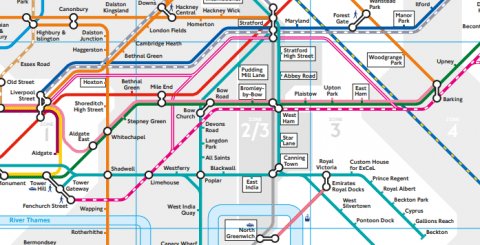 map 8 - The new London rail maps are out, and they are horrible