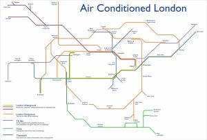 aclondonbig - This Tube Map Shows Which Lines Are Air-Conditioned