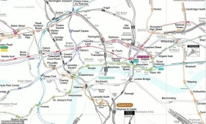 london underground ghost station map - London Underground map that shows every abandoned 'GHOST STATION'