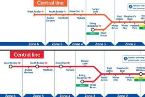 tfltubearchives0310 - Revealed: TfL Tube maps from the last two decades show how the London Underground lines have evolved