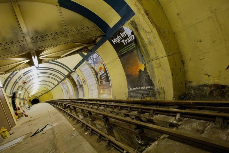 gettyimages 51558496 1024x685 - Inside the abandoned central London Tube stations which survive to this day