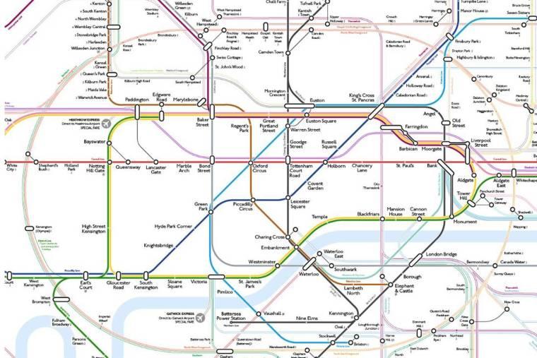 tubemapredesign0503 1024x683 - Graphic designer spends hundreds of hours 'decluttering' Tube map