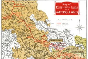 0 Metro land map - The long-forgotten London Underground line that almost reached Milton Keynes