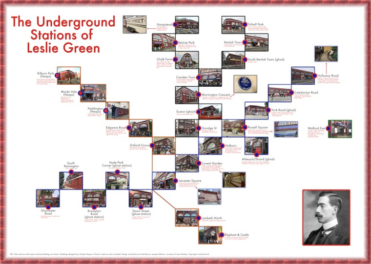 lesliegreentubesmall - The Beautiful Red-Tile Tube Stations Of Leslie Green