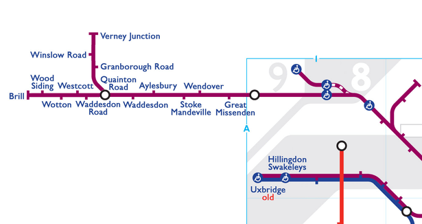 0 Met line one 9 - The London Underground's secret stations have been revealed in this map