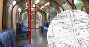 1 secret tube canva - The London Underground line that was built in secret