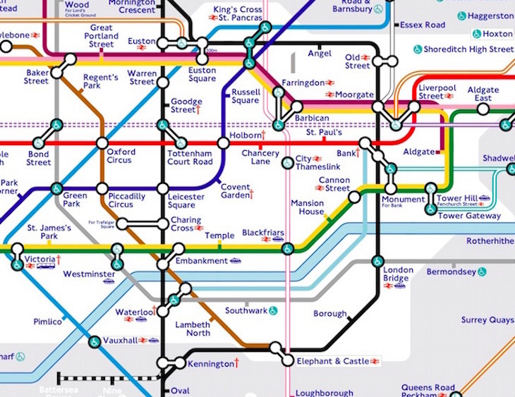 northern line - The Tube Map, Redesigned By A Tooting Resident