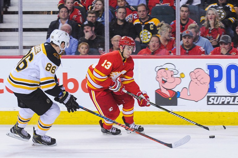 Calgary Flames Johnny Gaudreau Probable for Tonight's Game - Last ...