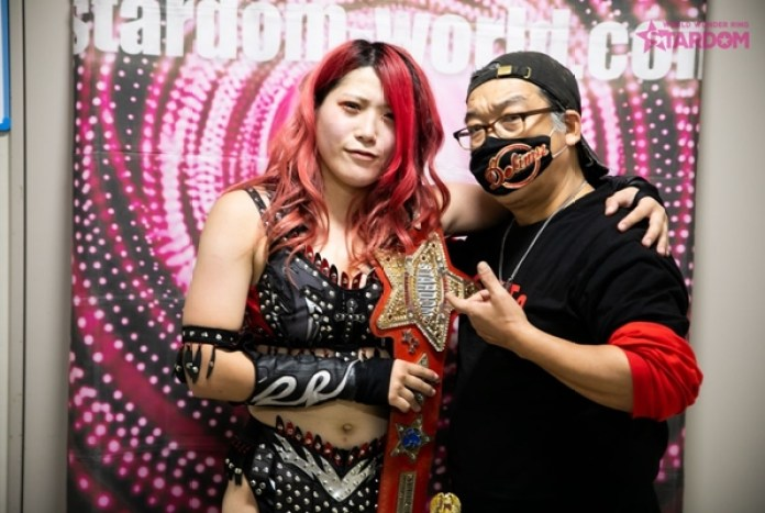 AndNEW: Utami Hayashishita Wins the World of Stardom Championship