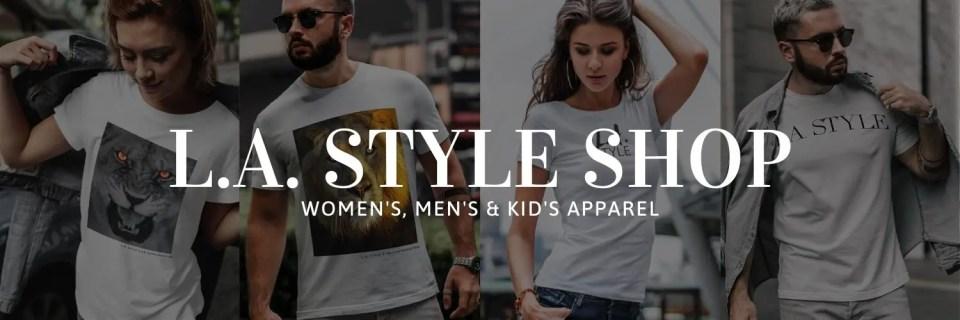 L.A. STYLE Magazine retail shop