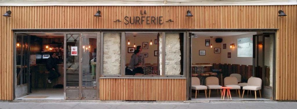 La Surferie : le bar glassy de Paris