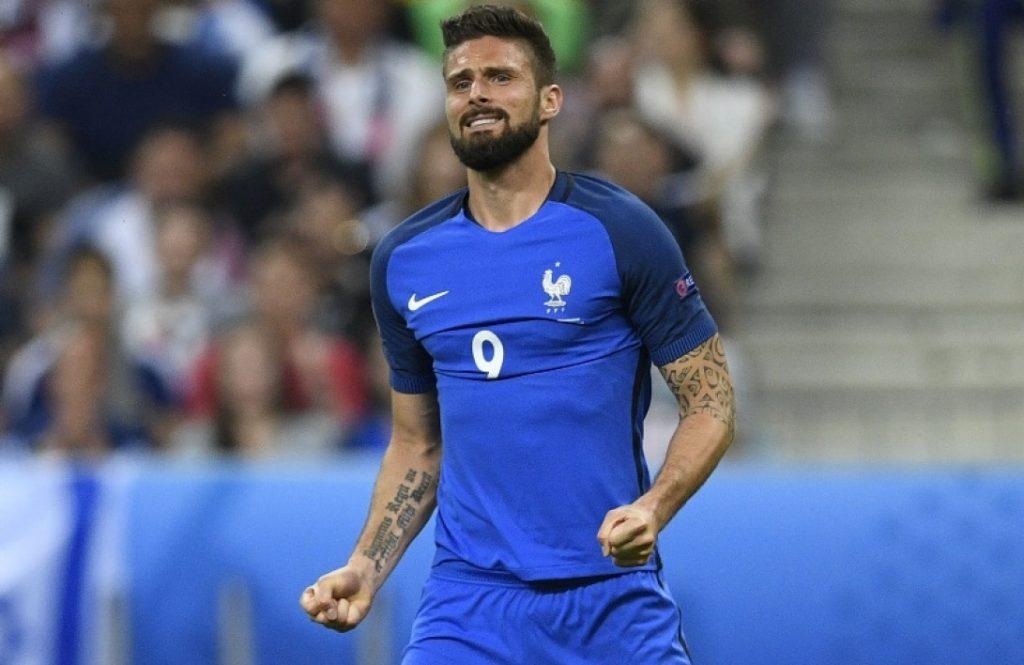 France-Albanie Giroud