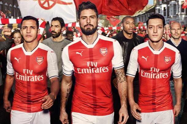 Maillots de foot - Arsenal