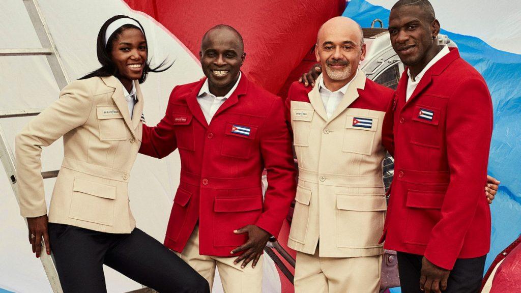 tenues des JO 2016 - Cuba - 2