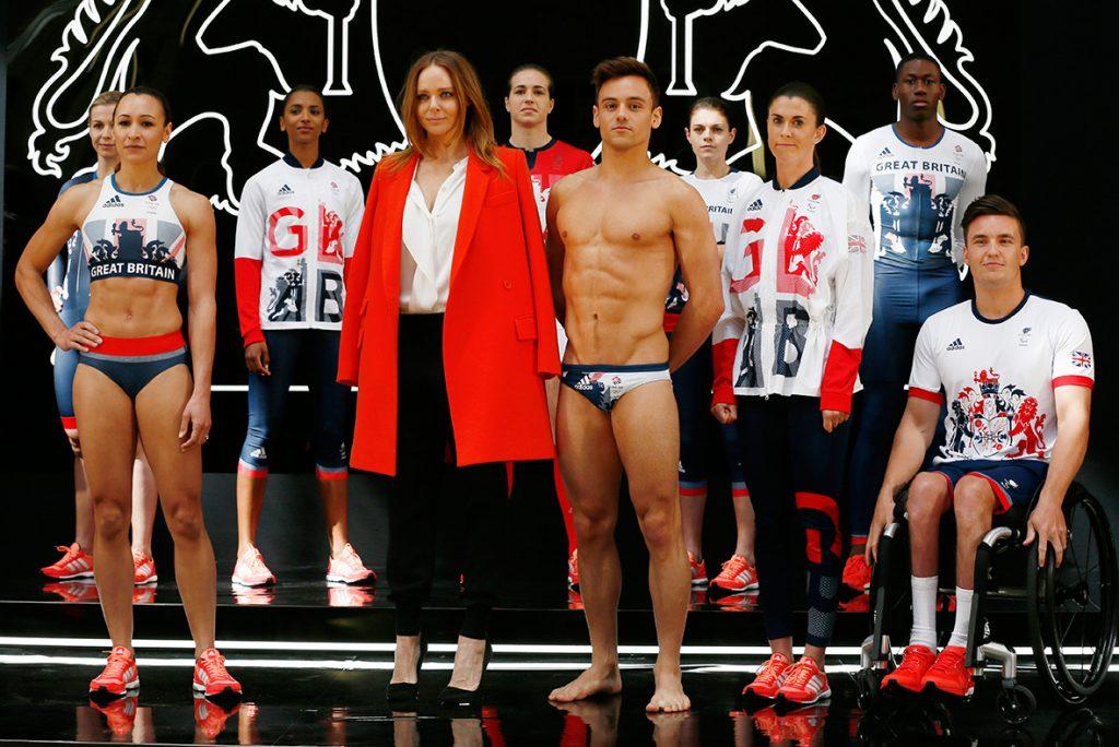 tenues des JO 2016 - Grande-Bretagne - 1
