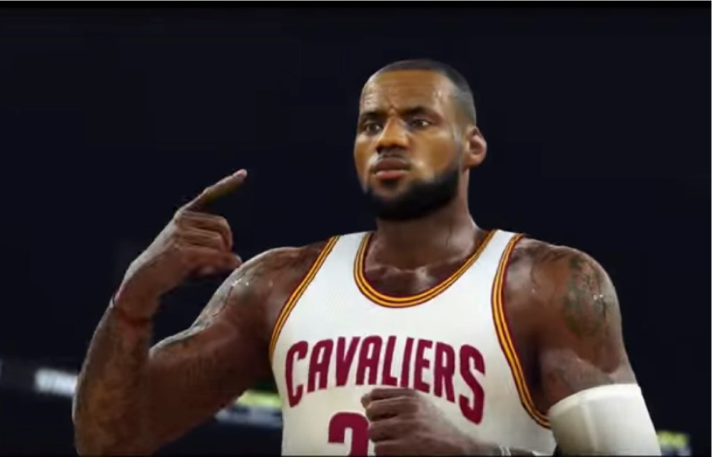 Les notes de NBA 2K17 sont sorties - LeBron 1er, Curry 2e, Westbrook 3e