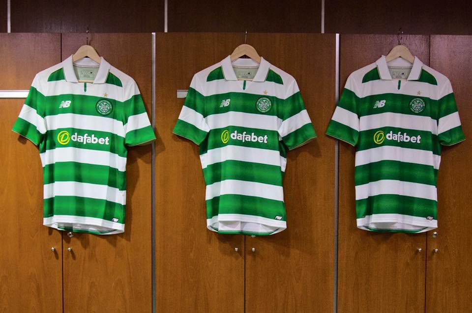 Maillots de foot - celtic