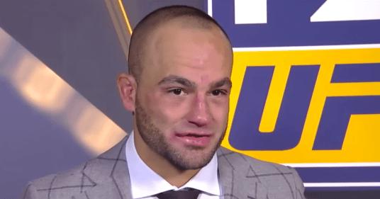 Eddie Alvarez revient sa très lourde défaite de l'UFC 205
