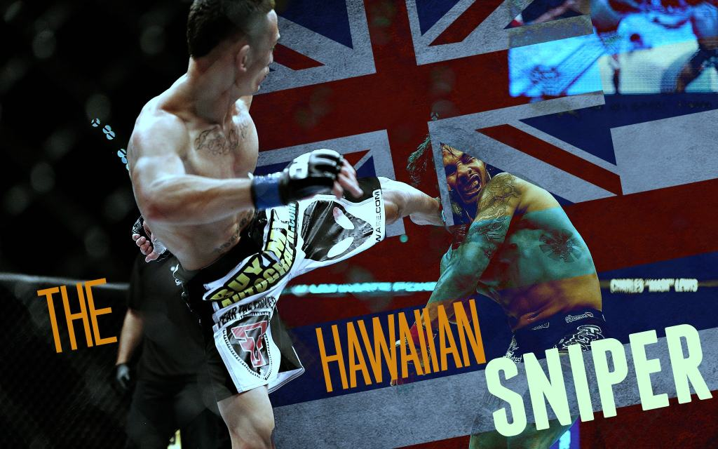 Max Holloway – Écrasement de tête à l'Hawaiienne