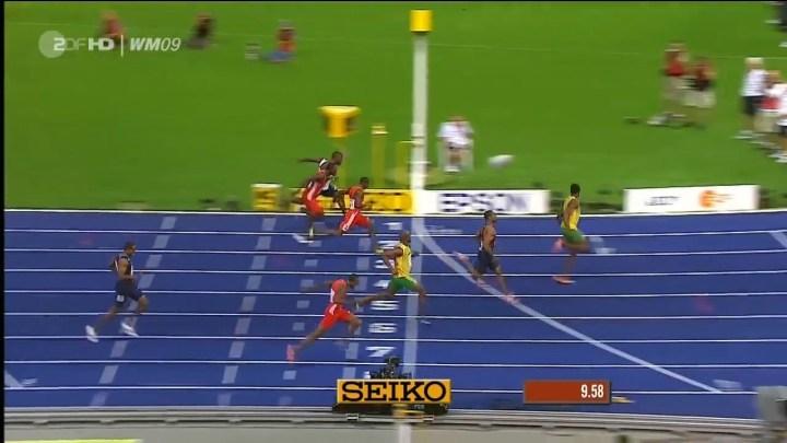 Championnats du Monde 2009 – le plus grand 100m de tous les temps