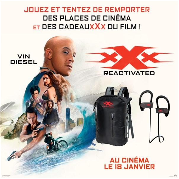 Concours xXx : REACTIVATED x La Sueur