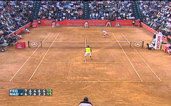 Roger Federer vs. Rafael Nadal – le chef-d'œuvre de Rome en 2006
