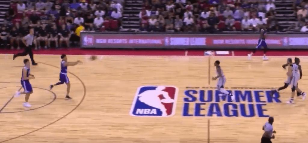 Le alley-oop de 20m de Lonzo Ball pour Kyle Kuzma