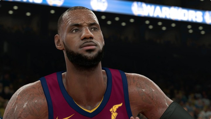 La note de LeBron James dans NBA 2K18 dévoilée