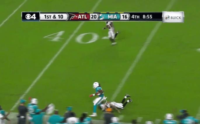 Les Miami Dolphins claquent un touchdown de 99 yards