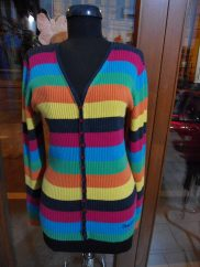 Cardigan colorat Pepe Jeans, marime L - 50 lei.1
