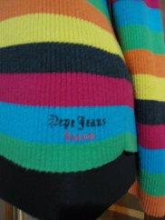 Cardigan colorat Pepe Jeans, marime L - 50 lei.3