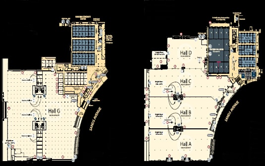Caesars Palace Las Vegas Conference Center Floor Plan