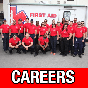 Now hiring EMTs and Paramedics